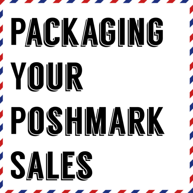 My Small Little Business: Packaging your Poshmark Sales