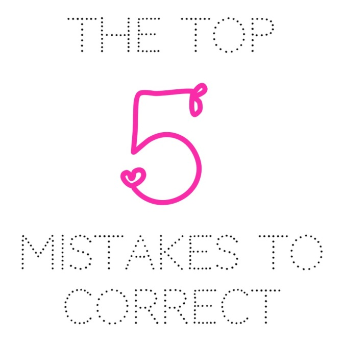 Top 5 Mistakes You Should Be Correcting To Make More Sales (For Newbies… and Pro's too!)