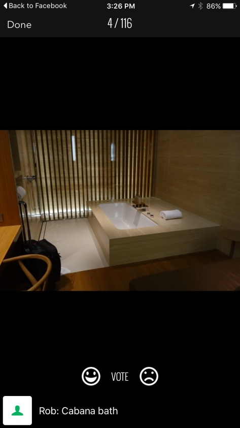 Cathay Pacific Loungebuddy Bathtub Luxe lounge