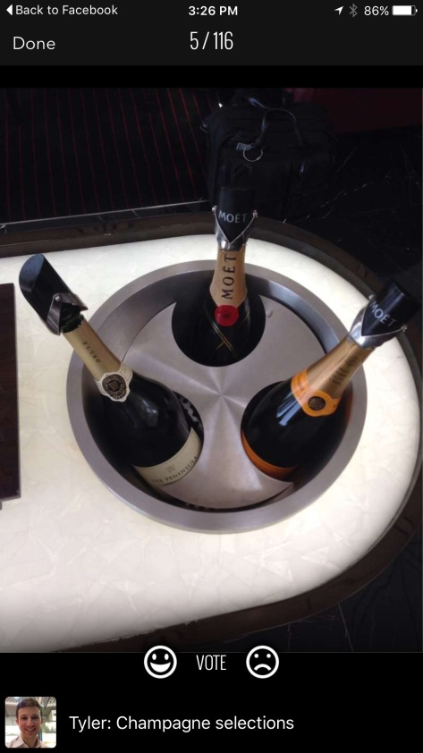 Cathay Pacific LoungeBuddy luxe lounge champagne trifecta