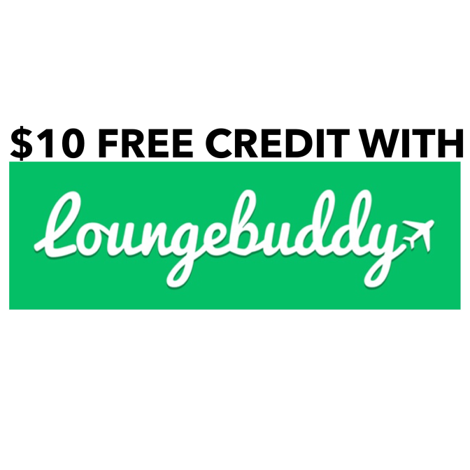 Free $10 Lounge Buddy Credit