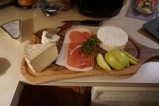 Cheeseboard appetizer