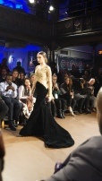Black and Gold Gown Willfredo Gerardo