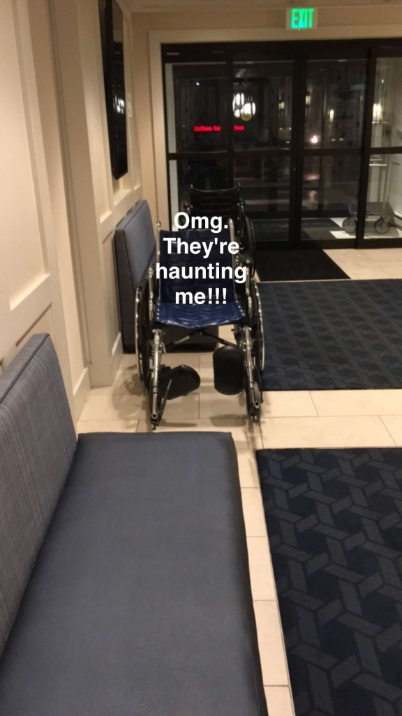 Wheelchairs for security line