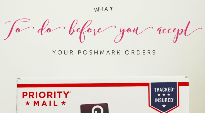 Before You Accept Your Poshmark Purchases